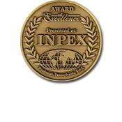 Glo Blades won a gold medal at Inpex!